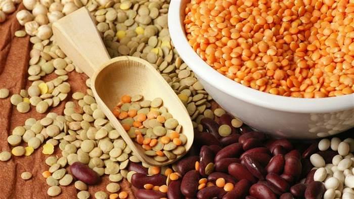 Chickpeas, lentils & beans